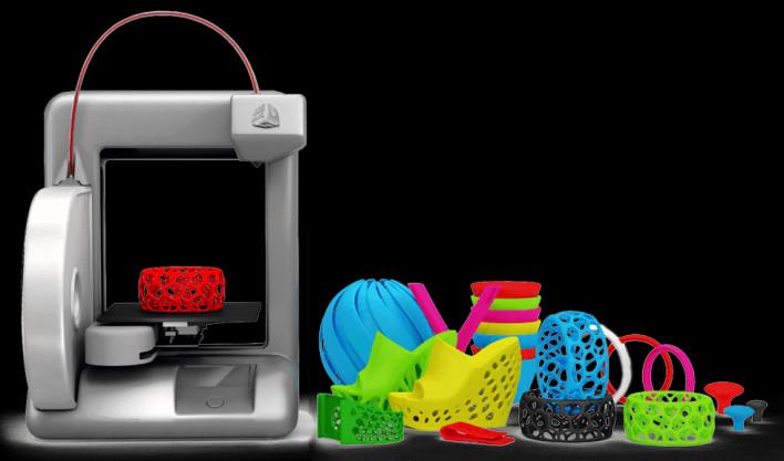 Máy in 3D tạo ra đồ chơi
