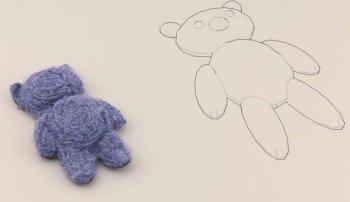 Tạo gấu bông bằng máy in 3D