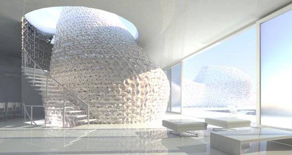 Bạn đã sẵn sàng để sống trong một ngôi nhà được in 3D.