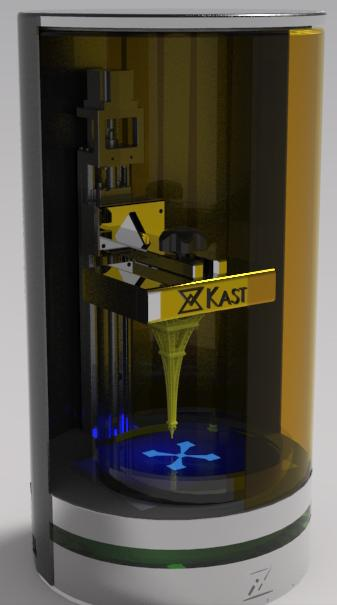 Đã có máy in 3d in nhanh gấp 12 lần máy in hiện tại sử dụng cộng nghệ SLA.