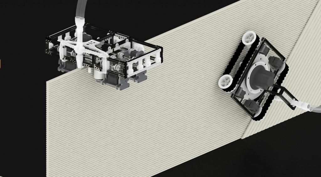 mini robot build3