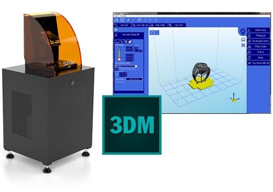 Máy in 3D resin-công nghệ đi cùng năm tháng